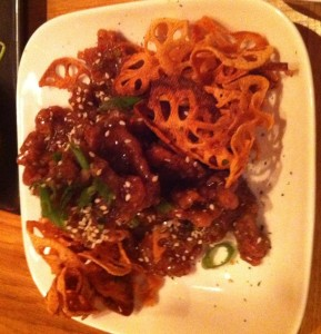 Spicy Crispy Beef, best dishes nyc