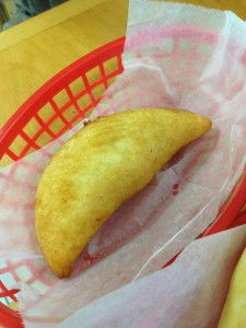 corn empanada, moises bakery, north beach, miami