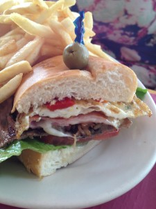 Steak Sandwich, Uruguay, North Beach, South Beach, Miami