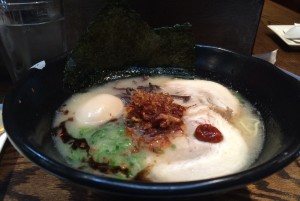 best ramen nyc, jinya ramen, west village, pork broth, garlic