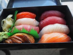 Sushi Dojo Express, Ganvsevoort Market, Meatpacking, NYC