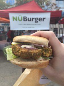 Smorgasburg Vegan Burger