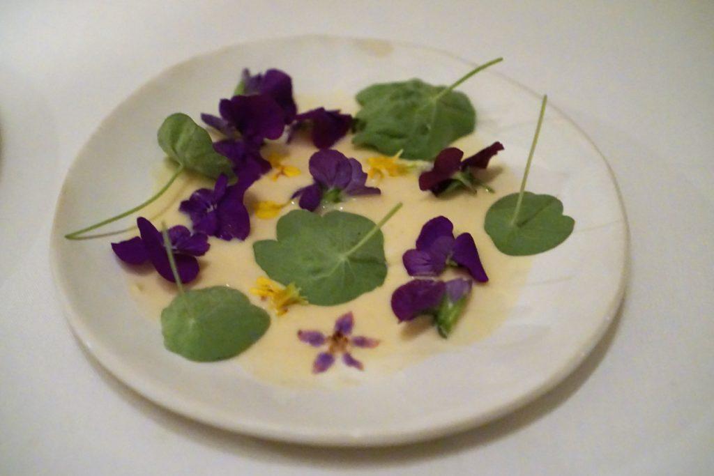 Edible Flowers Yogurt