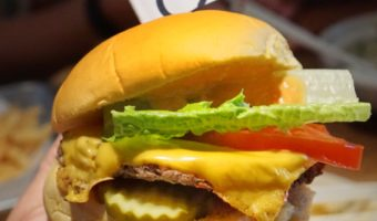 Impossible Burger at Momofuku Nishi