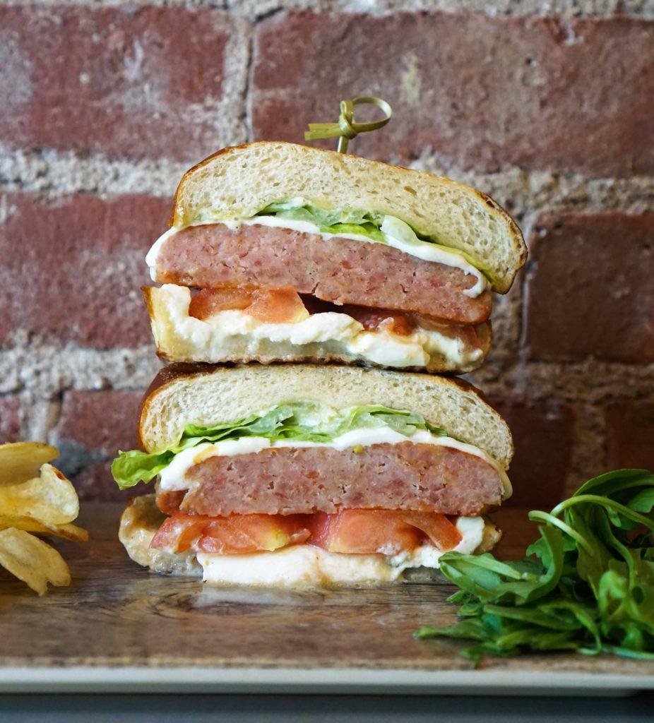 jonny panini nyc, best panini sandwich italian nyc, prosciutto burger