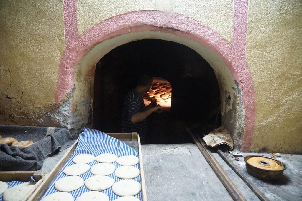 bakery morocco medina