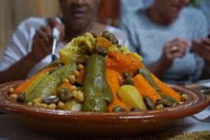 Moroccan Food, Vegetarian