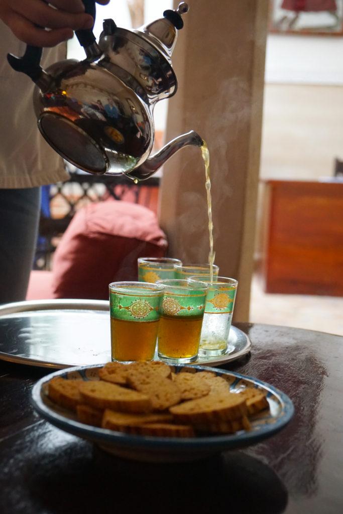 Moroccan Whiskey Tea